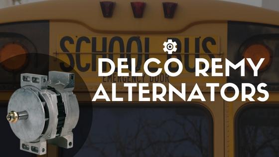 Delco Remy Alternators